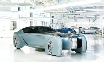 Behold The Rolls-Royce Concept Car For The Roads Of 2040