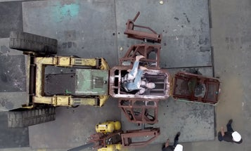 Giant Fighting Robot Tests Pilot Safety Features