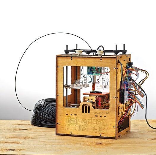 Making the Makerbot, A DIY 3-D Printer