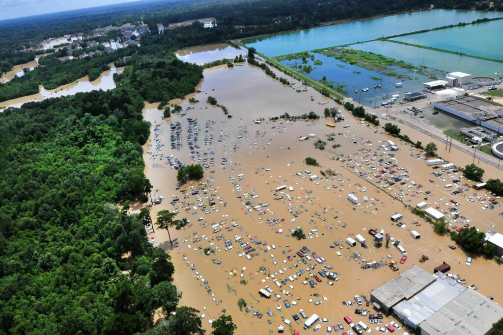 Flooding In Baton Rouge