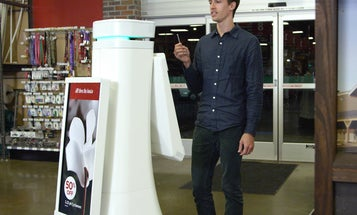 In Time For The Holidays, Stores Add Robot Sales Clerks