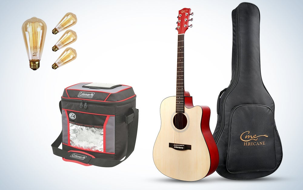 Home, music, and outdoor deals.