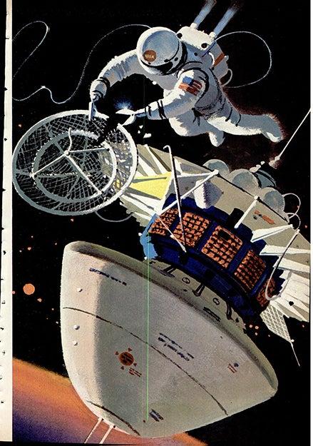 Spaceman sever antenna