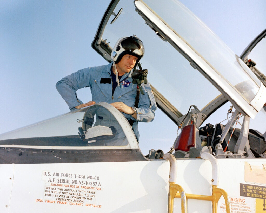 Neil Armstrong the Pilot