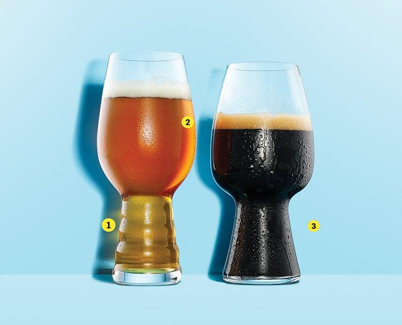 Glasses That Make Beer Taste Better