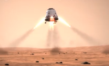 SpaceX Dragon Capsule Could Go Drill For Ice on Mars
