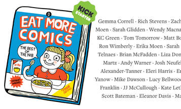 Just Five More Days to Eat More Comics