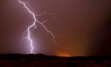 Exclusive: Watch a new video of lightning strikes seen from space