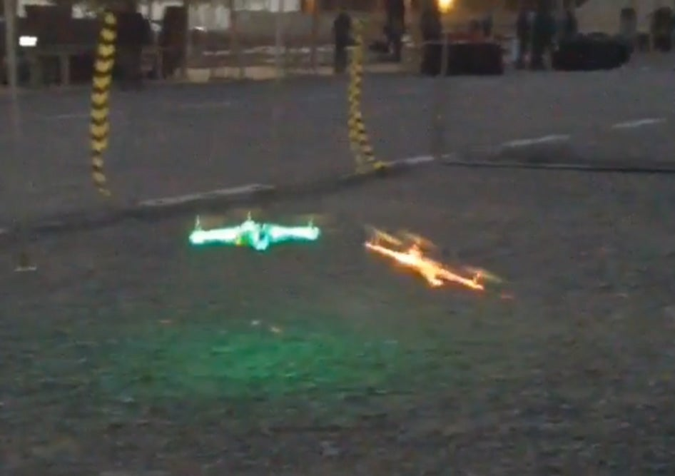 CES 2015: Flying, Racing, And Destroying Drones At The Drone Rodeo [VIDEO]