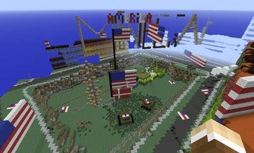 Hooligans Are Razing The 'Minecraft' Version Of Denmark