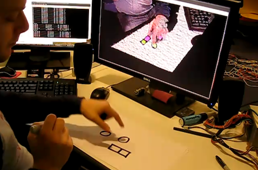 Video: Kinect Hack Recognizes Buttons Drawn With Ink and Paper
