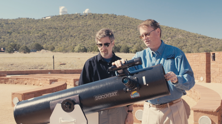 How a simple, but effective telescope works