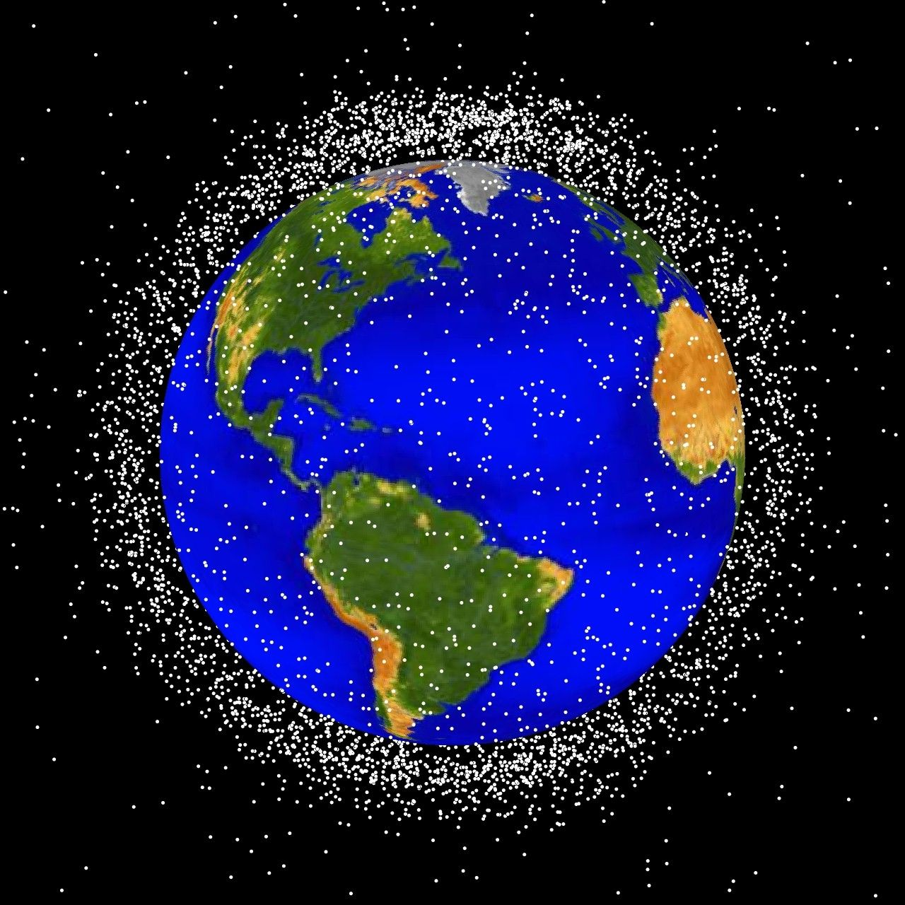 Tiny license plates could help us steer clear of our space junk