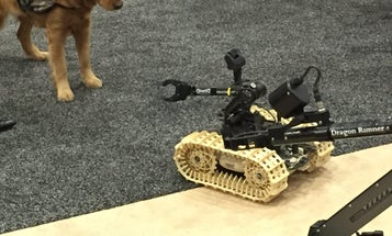 QinetiQ's Robot Can Switch Hands During A Mission