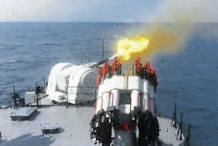 Indonesia Type 730 CIWS KRI Sultan Thaha Syaifuddin