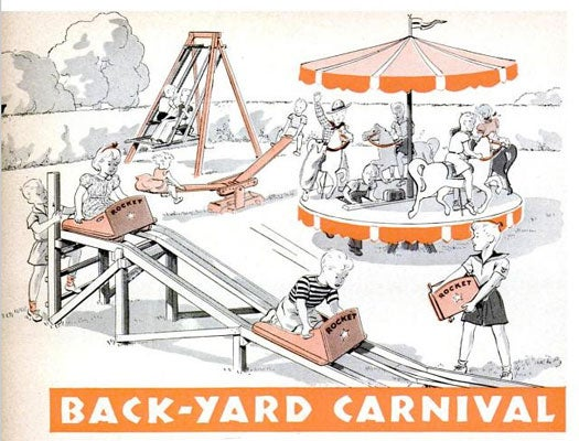 DIY Backyard Carnival: July 1941