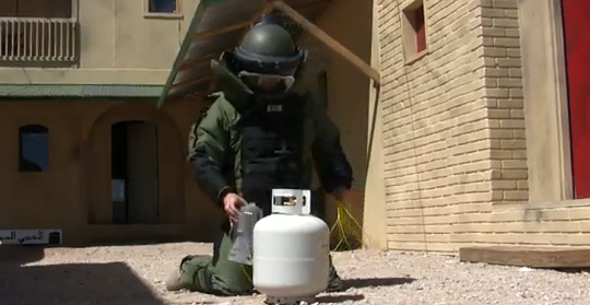 Video: Military's New Water Guns Can Rip Through Steel, Disabling IEDs