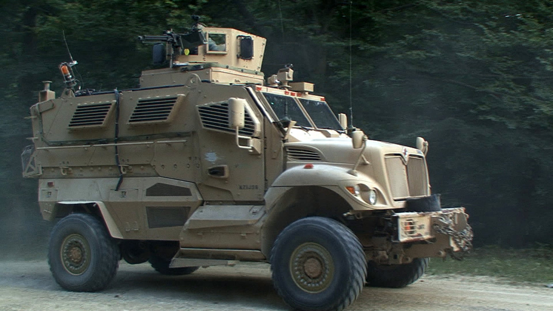 Armored Airbags to Protect Vehicles from RPGs and Roadside Bombs