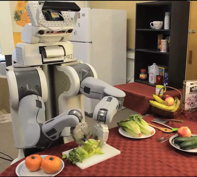 Knife-Wielding Robots Are Getting Better At Handling Slippery Foods