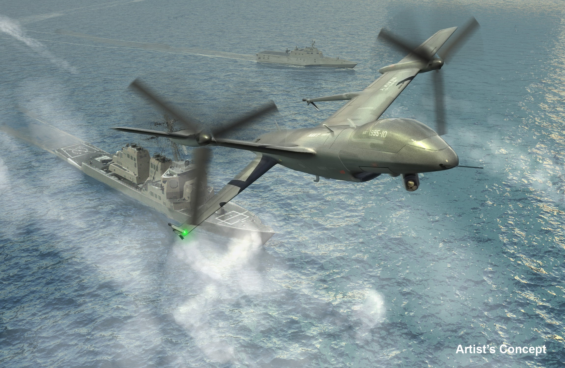 Navy's Long-Range Drone Will Patrol The Oceans Of The Future