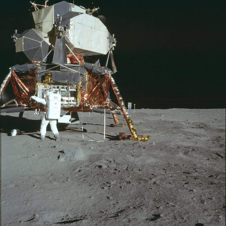 How Apollo 11's astronauts spent their 22 hours on the moon