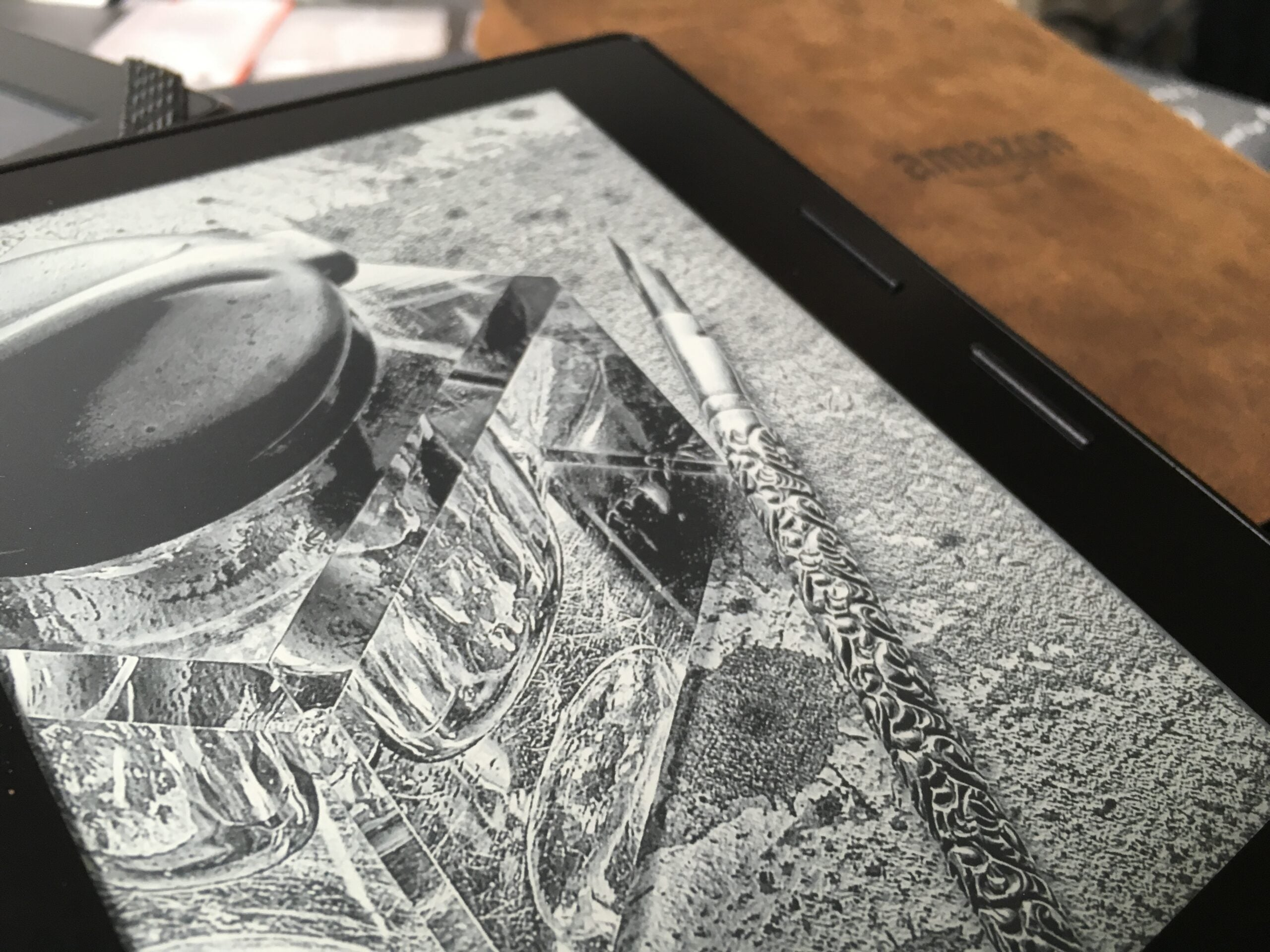 Amazon's Kindle Oasis Puts Function Over Form