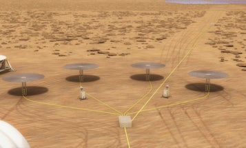 Nuclear reactors the size of wastebaskets could power our Martian settlements