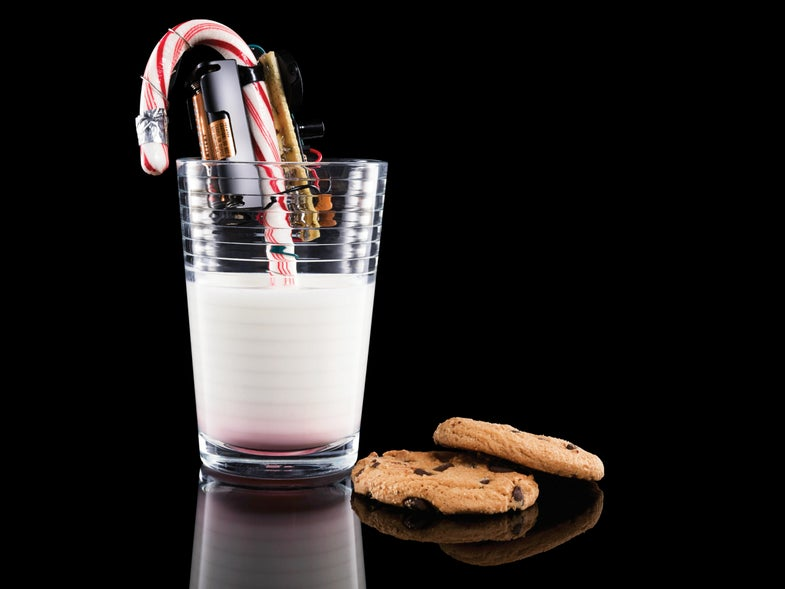How To Turn A Leftover Candy Cane Into A Sound Machine