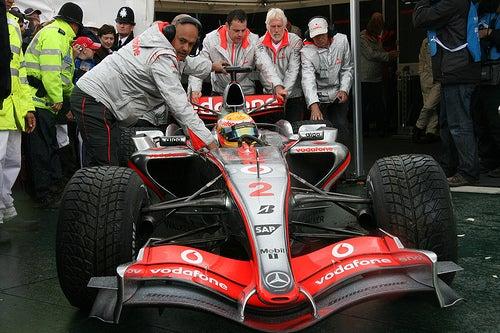 Kinetic Energy for Formula One