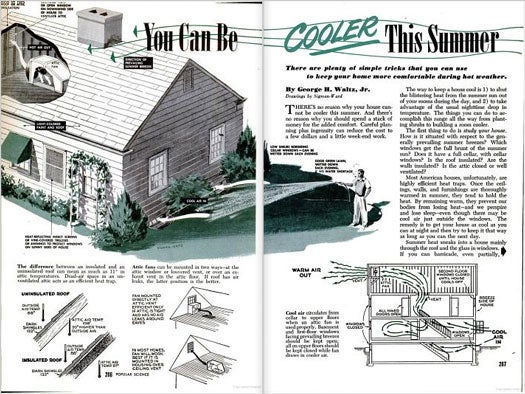 For Homes Without an Air Conditioner: June 1950