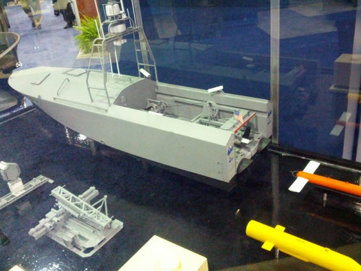 U.S. Navy Could Deploy Robot Boats To Find Undersea Mines