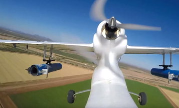 This Drone-Mounted Cannon Fires Irradiated Moths At Crops