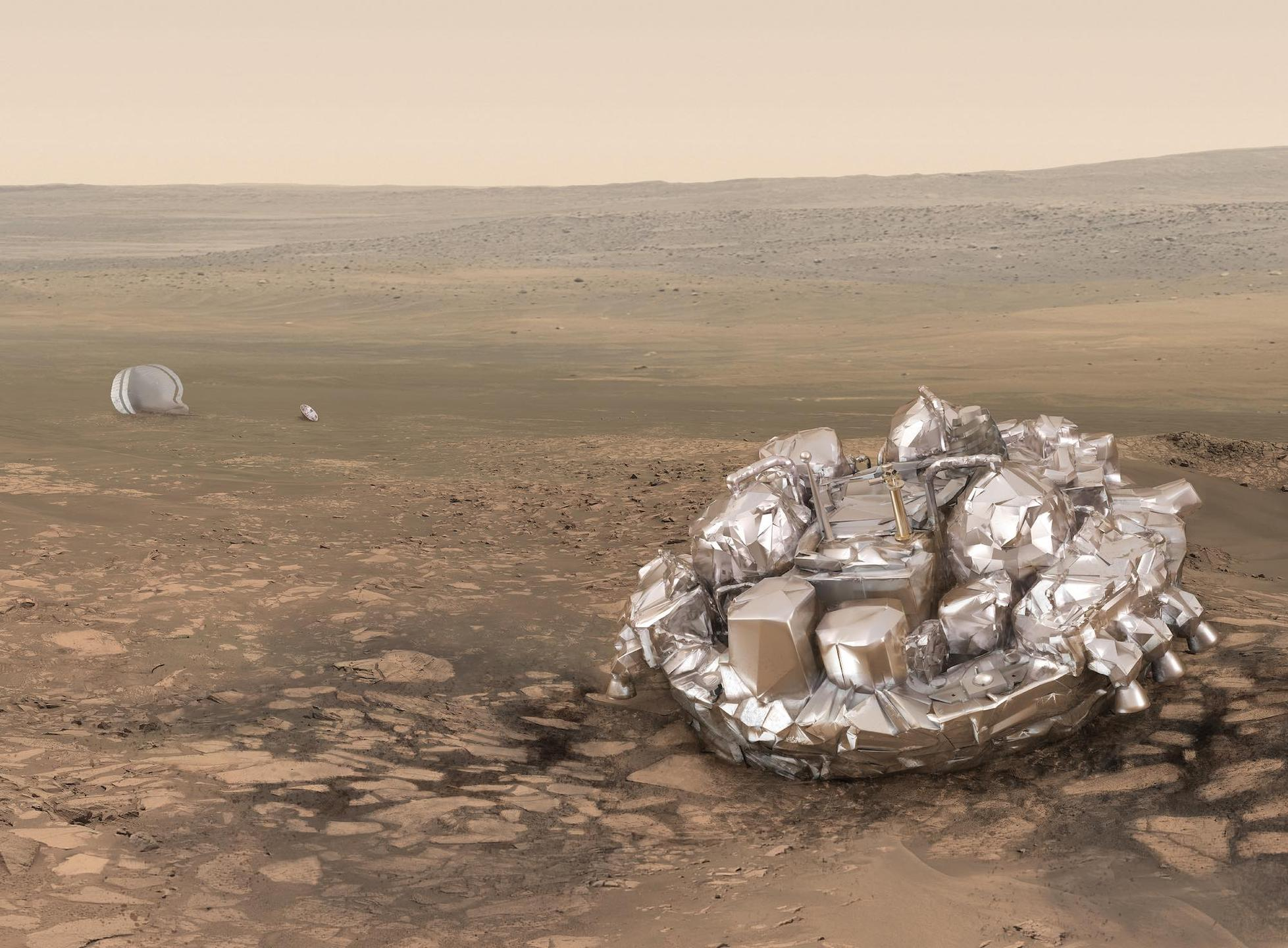 How NASA Found The Lost ExoMars Lander So Quickly