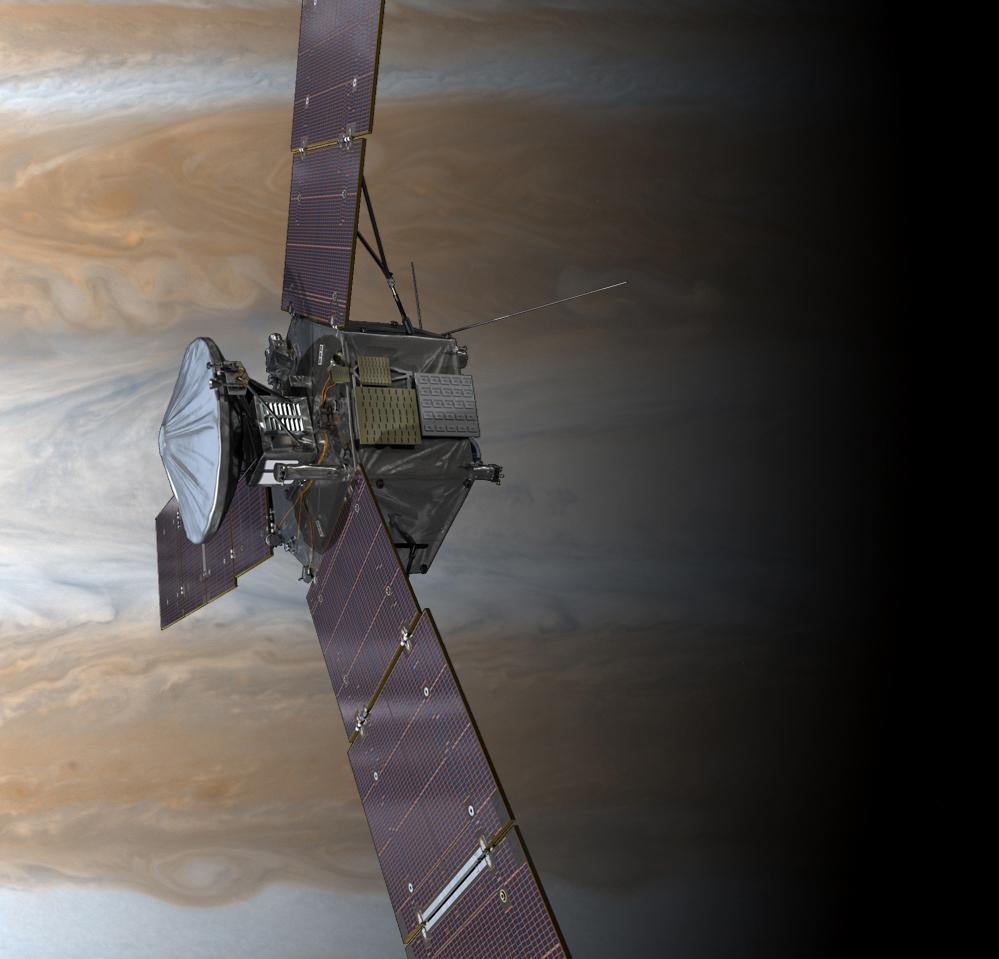 Success! NASA's Juno Spacecraft Made It To Jupiter