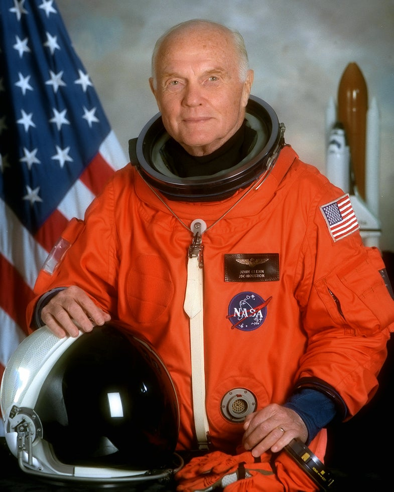 How John Glenn Landed After Becoming The First American To Orbit The Earth