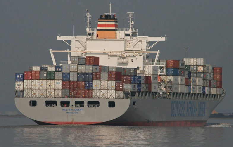 Shipping Containers Could Relay Quantum Information Across Oceans