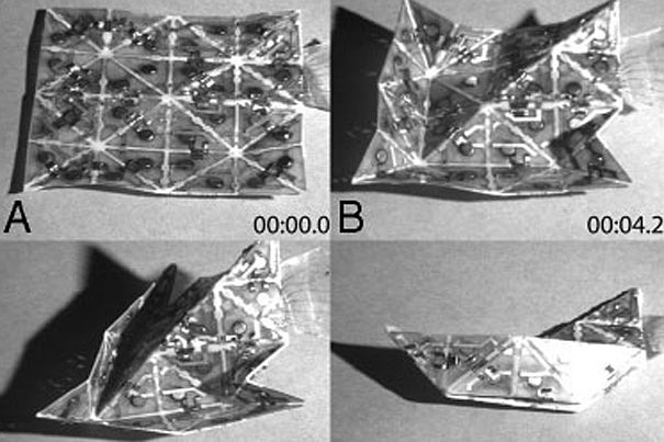 "Video: ""Smart Sheets"" Can Self-Assemble Into Airplanes, Boats"