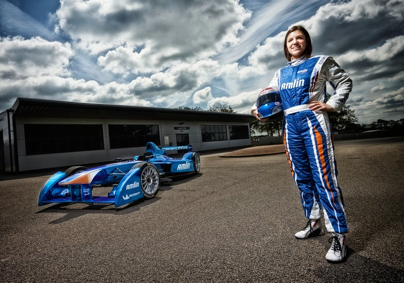 Your Vote Can Give This Electric Racecar Driver A Big Speed Boost