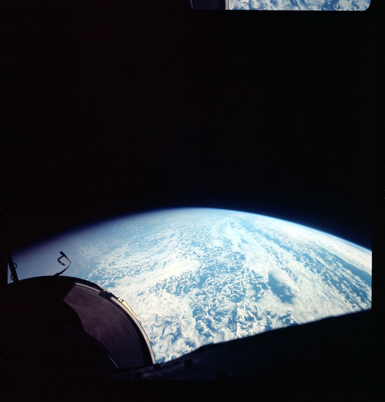 Here's the View from the Highest Ever Orbital Mission