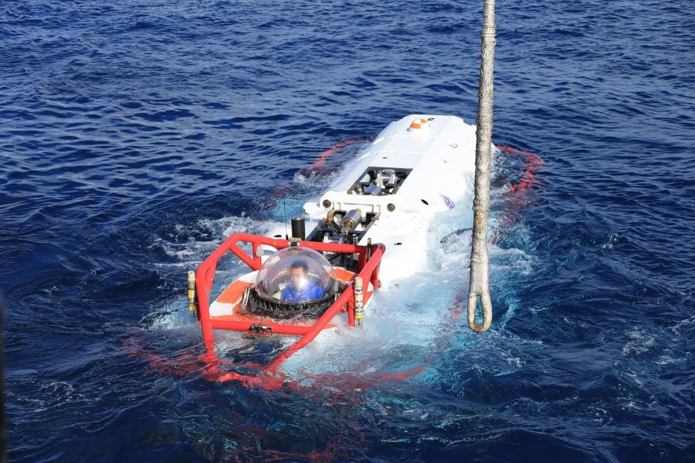 China And US Train Together At Submarine Rescue