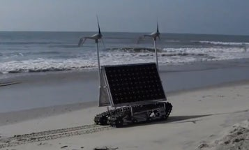 Student-Designed NASA Rover Is An 800-Pound, Solar-Powered Tank