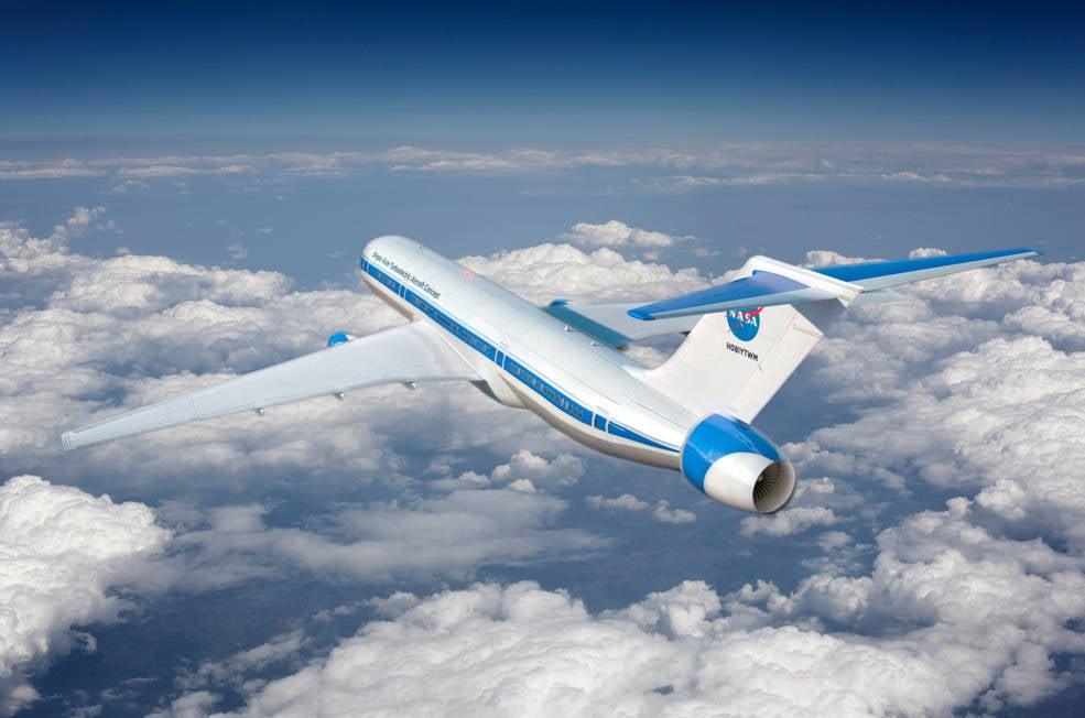NASA's Hybrid Plane Concept