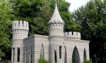 Man 3-D Prints A Concrete Castle In His Backyard