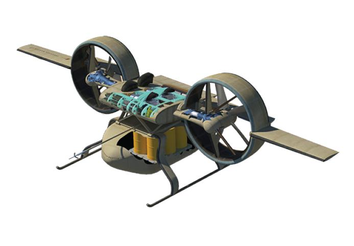 Ares Combat Drone