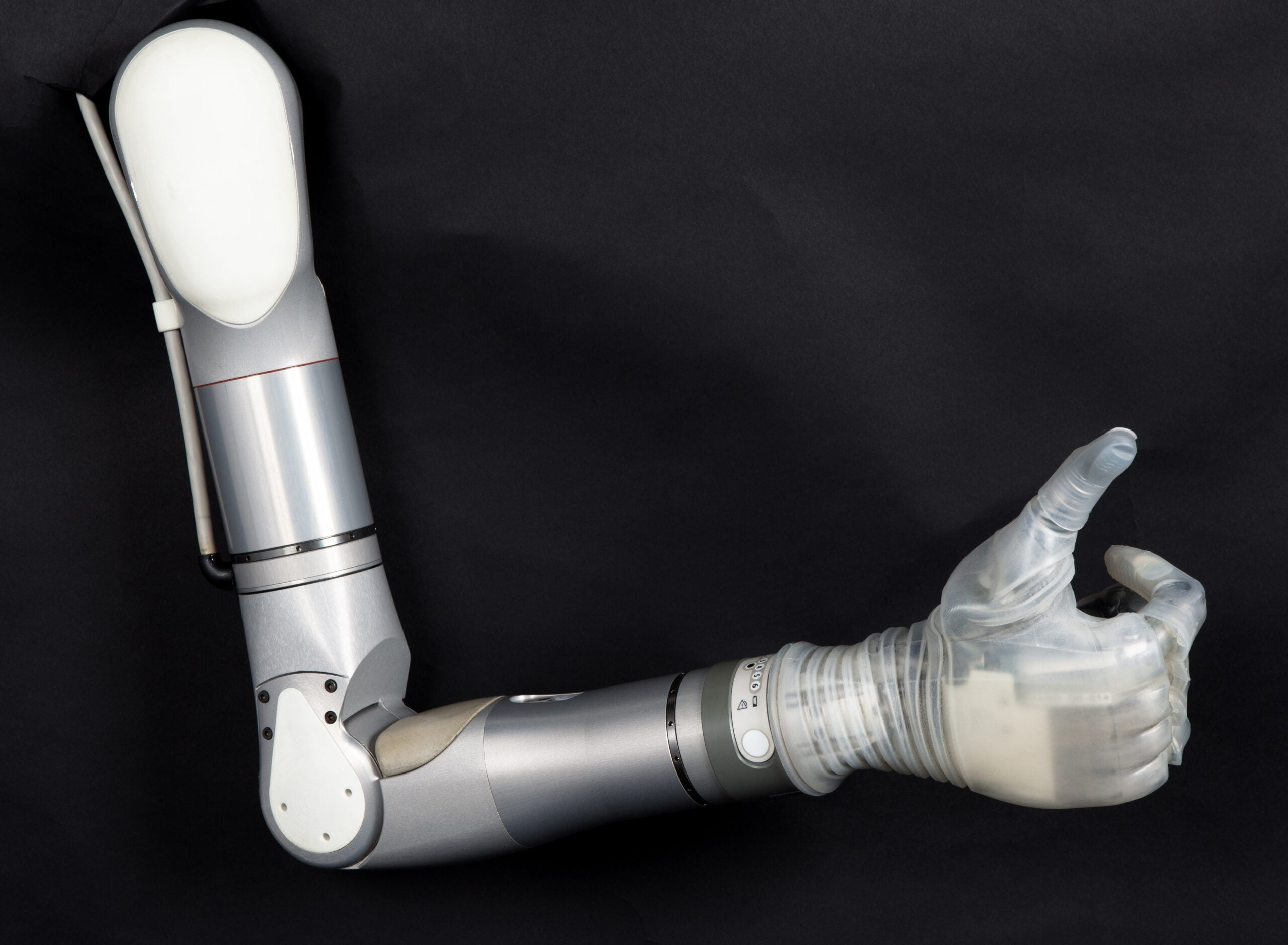 DEKA arm, a prosthetic limb designed by the inventor of the segway