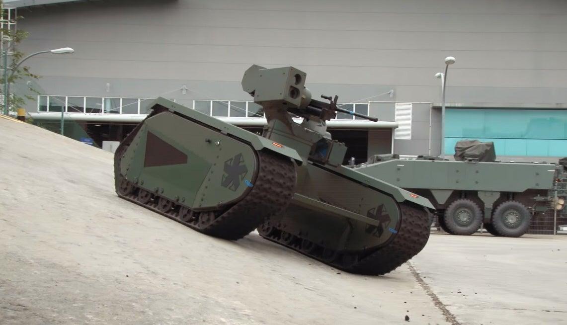 This Estonian Tankette Is A Modular Body For War Robots