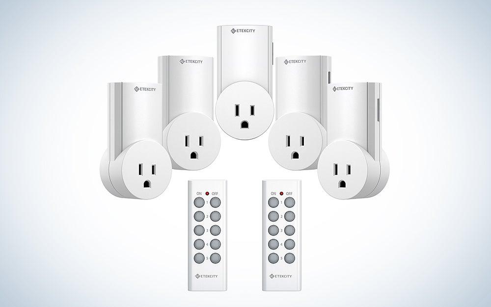 Etekcity remote-controlled plugs