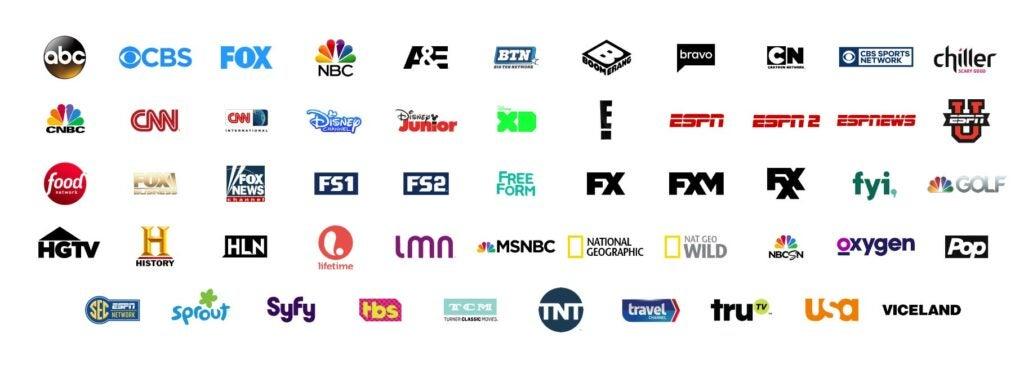 Hulu Live TV channels