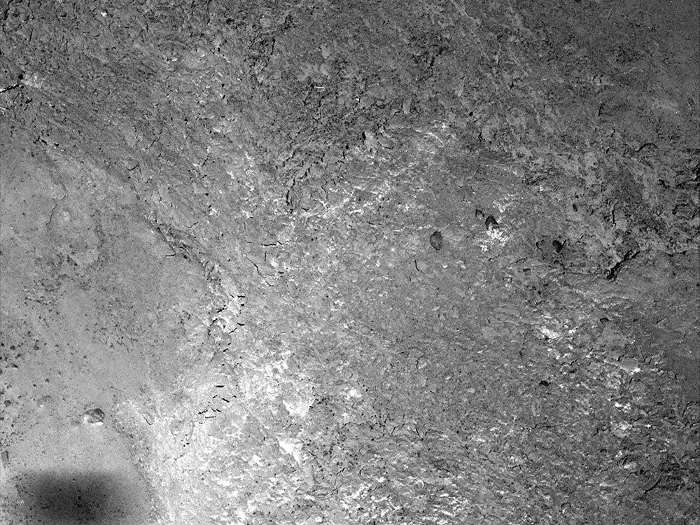 rosettas shadow on comet