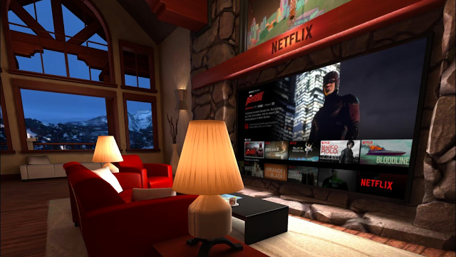You Can Now Binge-Watch Netflix In Virtual Reality